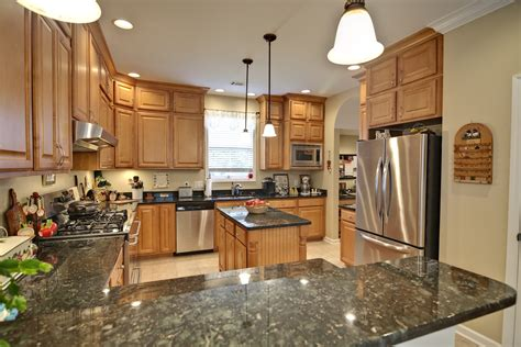 kitchen contractors island kitchen remodel st louis mo