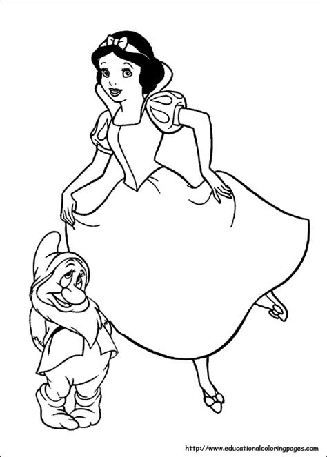 snow white coloring pages free printable snow white coloring pages free for kids