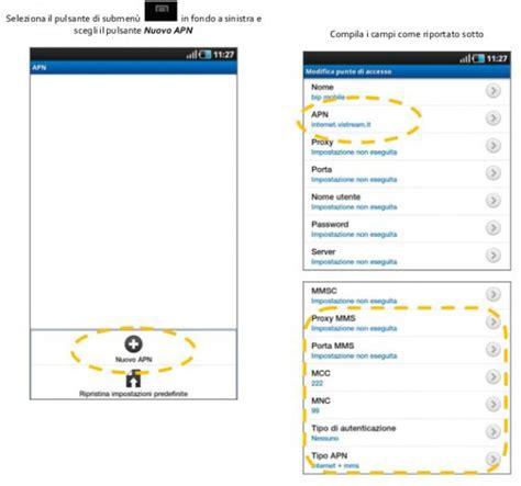 wind mobile configurazione bip mobile configurazione android settimocell