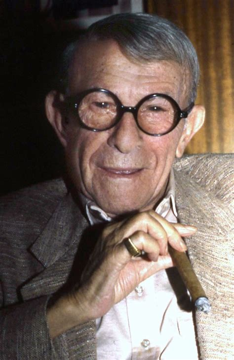 george burns quot i can t afford to die i d lose too much money