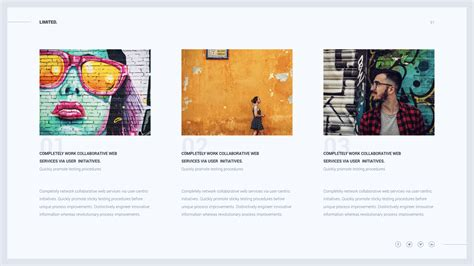 themes are limited to limited creative modern powerpoint template by
