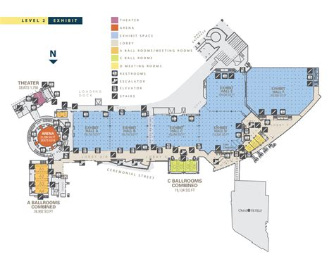 Dallas Convention Center Floor Plan | north american telugu association nata