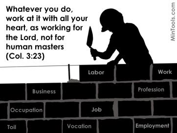 Working For Is Like Not Working At All by Labor Day Is Reflections For Christians In The Workforce