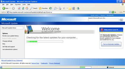 windows xp home sp3 windows update won t run hangs at