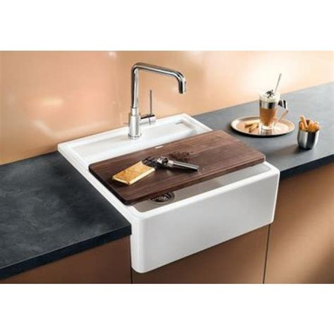 Blanco Panor 60 Ceramic Single Bowl Sink Crystal White