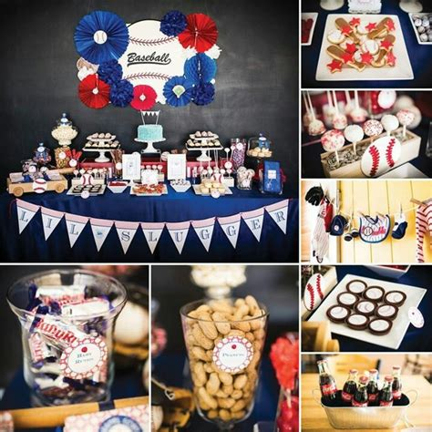 Couture Baby Shower Decor Ideas by Baseball A Lil Decorating With Me
