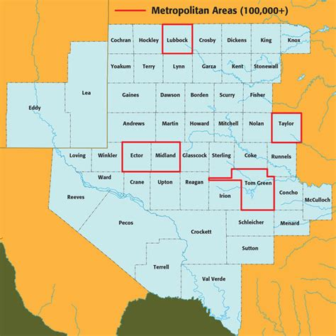 permian basin map stats by county permian basin coalition