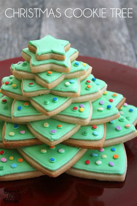 how to make cookie christmas tree cake for kids cookie tree bread booze bacon
