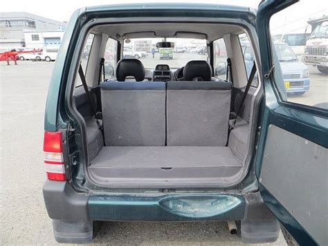 1996 mitsubishi pajero mini h56a stock in durban port for