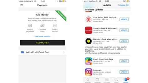 make credit card payment with another credit card ola adds another cashless option lets you pay through