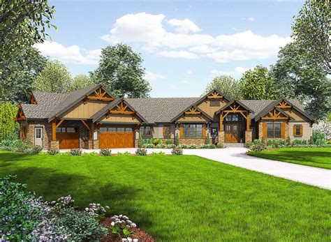 plan house one story mountain ranch home with options 23609jd architectural designs house plans