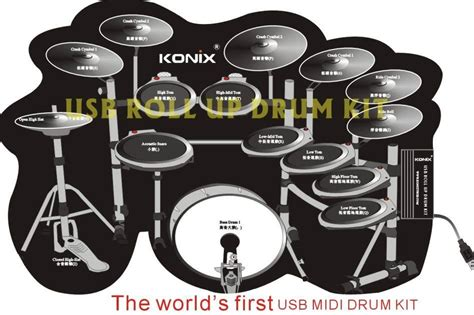Usb Roll Up Drum Kit drum practice software midi rosries