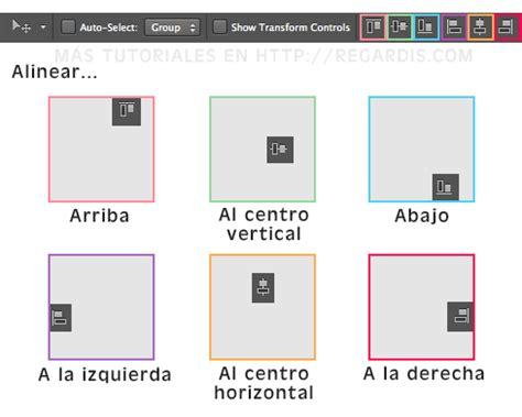 alinear imagenes horizontalmente html c 243 mo alinear objetos en photoshop 187 regardis