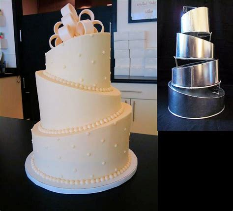 Wedding Cakes Delivered by Rainbow Sugarcraft Topsy Turvy Wedding Cakes Delivered To