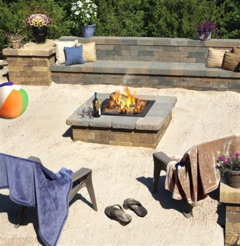 backyard themed pit backyard pit ideas inspired by bonfires bliss living