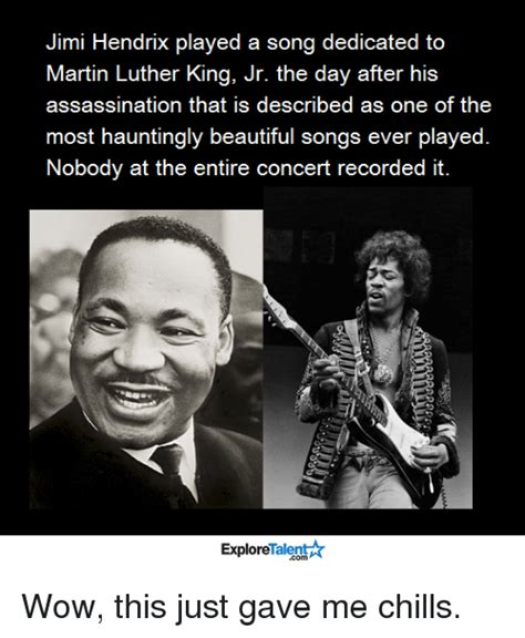 Jimi Hendrix Meme - jimi hendrix played a song dedicated to martin luther king