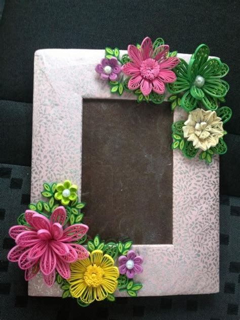 flower pattern for quilling 69 best quilling frames images on pinterest quilling