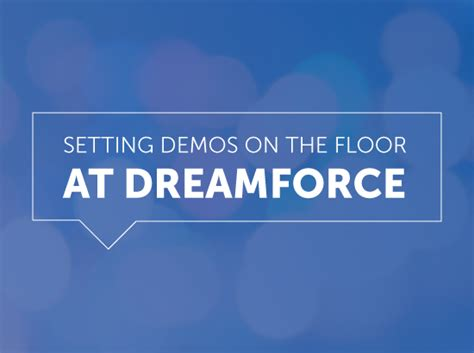 Legit Set set legit demos on the floor at dreamforce salesloft