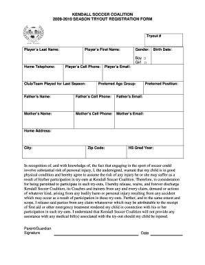 Soccer Certificate Ideas Forms And Templates Fillable Printable Sles For Pdf Word Soccer Player Registration Form Template