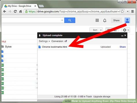 google images upload my photo how to upload anything even zip files onto google 9 steps