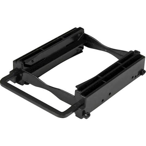 Best Buy Bracket Ssd 2 5 startech dual 2 5 quot ssd hdd mounting bracket for 3 5