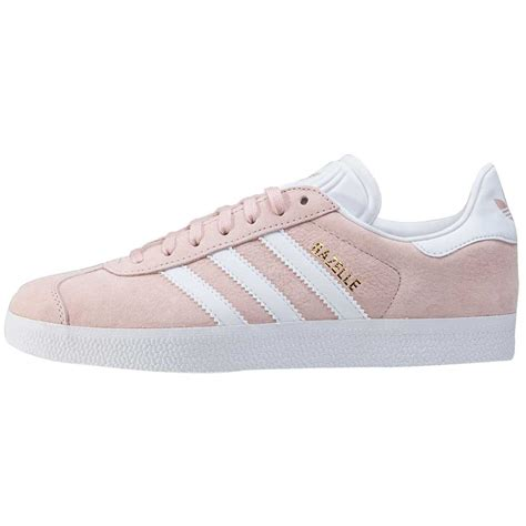 adidas gazelle womens trainers in blush pink