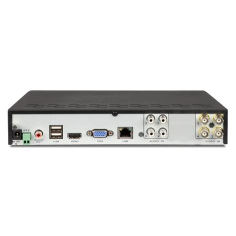 swann 4 channel 500gb dvr home security system w