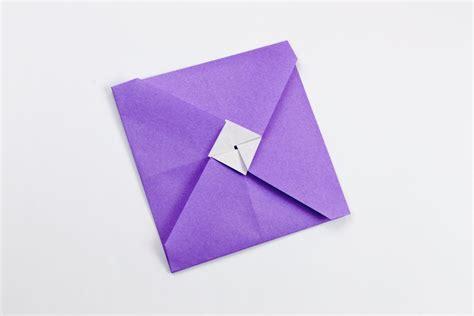 Origami Money Envelope - origami tato envelope variation