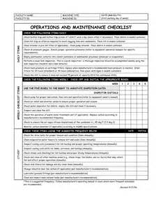 facility management template best photos of facility preventive maintenance checklist