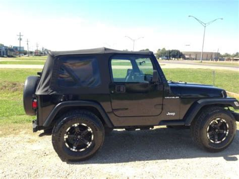 used jeep wrangler in louisiana purchase used 2002 jeep wrangler in alexandria louisiana