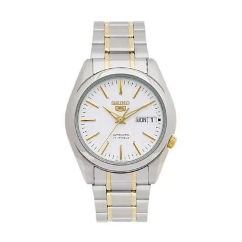 Jam Tangan Pria Seiko L12 White jual seiko 5 snkl47k1 original jam tangan automatic pria
