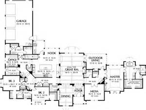 luxury house plans one story satisfying single story 6942am 1st floor master suite