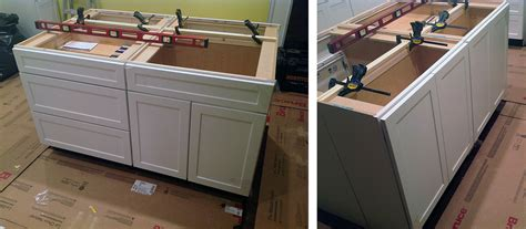 kitchen island from cabinets kitchen cabinets and islands quicua