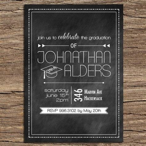 creative graduation invitation ideas hative