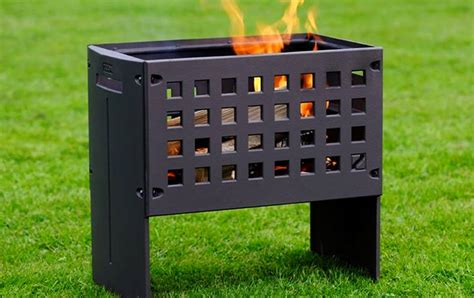 Firebox Fireplace by Helex Outfire Firebox Offers Outdoor Fireplace And
