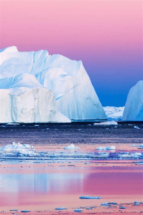 eisberge  der arktis handy logo kostenlos
