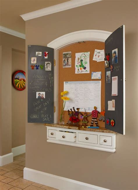 kitchen message center ideas 17 best ideas about kitchen message center on
