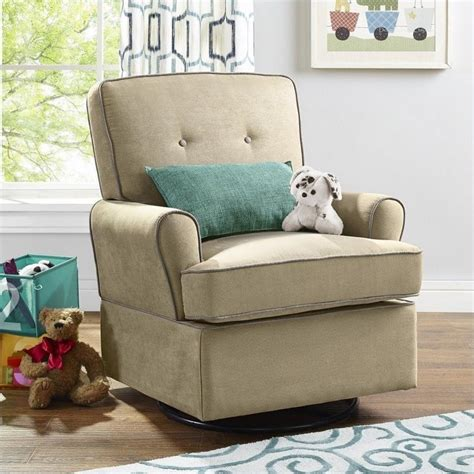 living room glider swivel glider in beige da6727sgt bg