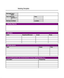 simple project template meeting minutes template 13 free word pdf psd