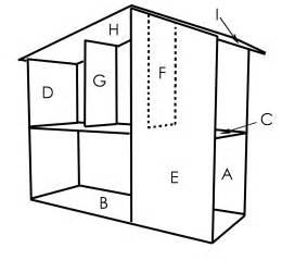 Dollhouse Floor Plans by Sutton Grace Mod Doll House Plans