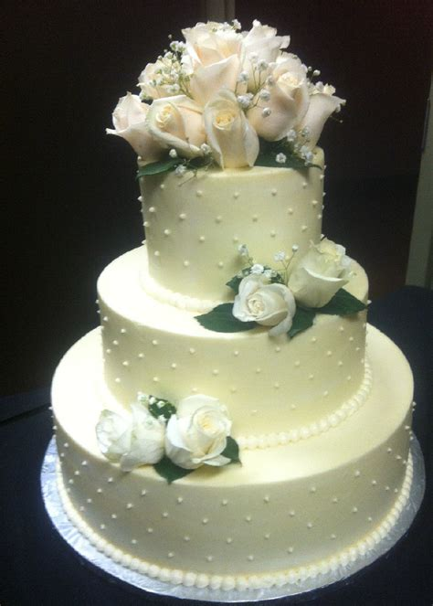 New Wedding Cake by Wedding Cakes Metrotainment Bakery