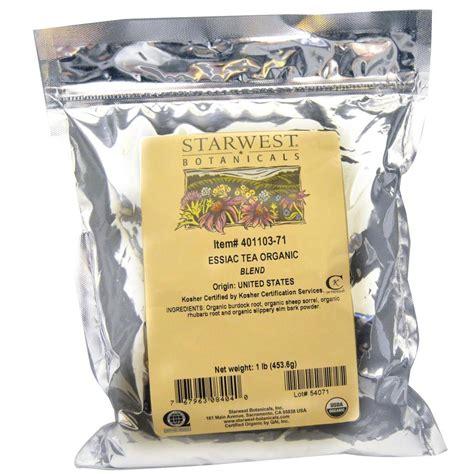 Essiac Tea Detox by Essiac Tea Bulk Bag Organic Cleanse Daily Make Gallons Of