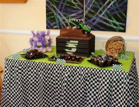 Jam Blaz Grey trucks racing cars birthday quot caleb s 5th