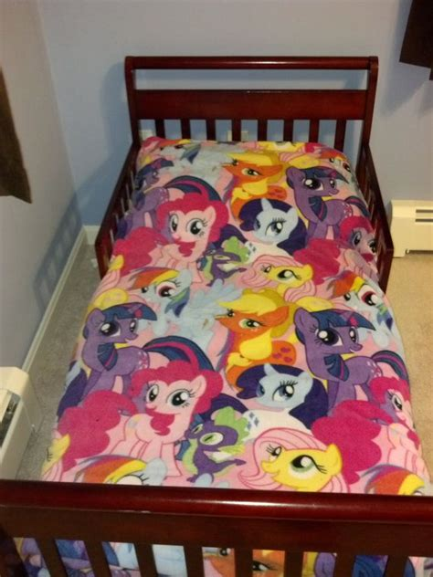 my little pony bed my little pony toddler bed set