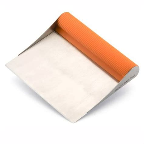 rachael ray tools bench scrape shovel rachael ray tools bench scrape shovel orange food