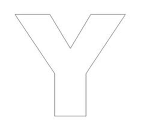 printable letter y template 1000 images about home sweet home on pinterest alphabet