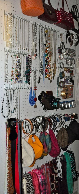 Pegboard Closet Organizer by Diy Makeover Closet Edition Peg Boards Closet