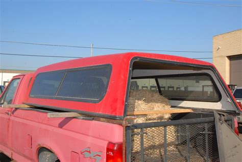 Camper Shell for Ford F250 around year 1997 8 ft bed cap