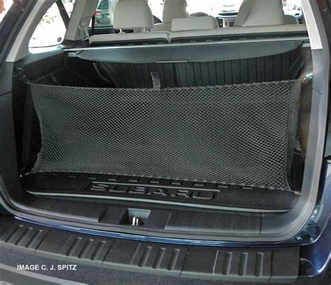 subaru outback cargo net 2013 outback options and upgrades photo page
