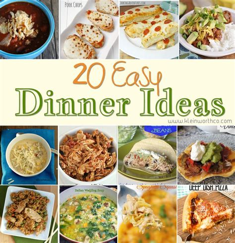 20 easy dinner ideas page 2 of 2 cheap dinner ideas
